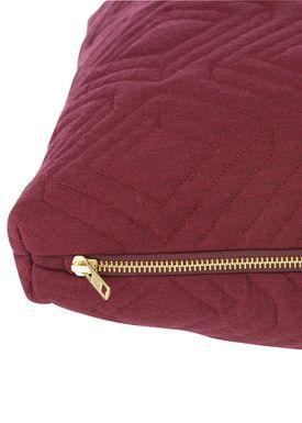 Ferm Living - Cushion - Quilt Cushion - Bordeaux 40 x 60