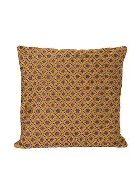 Ferm Living - Cushion - Salon Cushion - Mosaic Curry