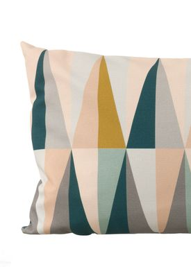Ferm Living - Tonicwater - Spear Cushion Large - Multi - large