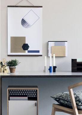 Ferm Living - Frames - Wooden Frames - Smoked Oak- small