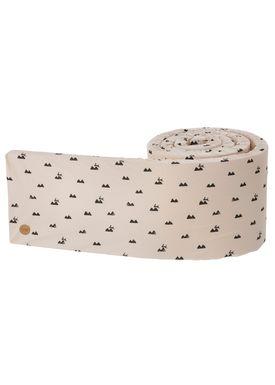 Ferm Living - Bed Bumper - Ferm Bed Bumper - Rose Rabbit