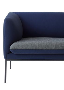 Ferm Living - Couch - Turn Sofa - Uniform Melange by Febrik - Made to order Colours