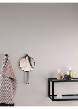Ferm Living - Mirror - Poste Hand Mirror - Black