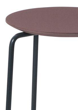 Ferm Living - Chair - Herman - Bordeaux/Blue