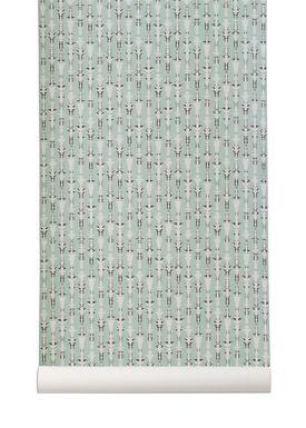 Ferm Living - Wallpaper - Vivid Wallpaper - Mint