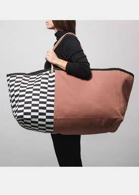 Ferm Living - Bag - Herman Big Bag - Ochre Pattern