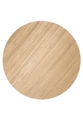 Ferm Living - Top - Wire Basket Top - Oiled Oak veneer - Large