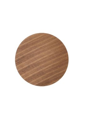 Ferm Living - Top - Wire Basket Top - Smoked Oak veneer - Small