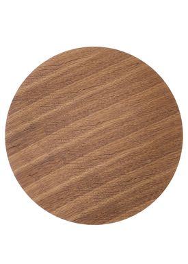 Ferm Living - Top - Wire Basket Top - Smoked Oak veneer - Large