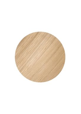 Ferm Living - Top - Wire Basket Top - Oiled Oak veneer - Small