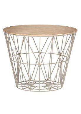 Ferm Living - Top - Wire Basket Top - Oiled Oak veneer - Medium