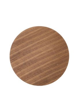 Ferm Living - Top - Wire Basket Top - Smoked Oak veneer - Medium