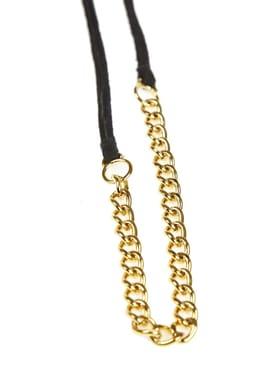 Forrest & Bob - Necklace - Hillside - Dark Grey (Gold)