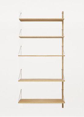 FRAMA - Reol - Shelf Library System - Large Ekstra Shelf and Bracket Set