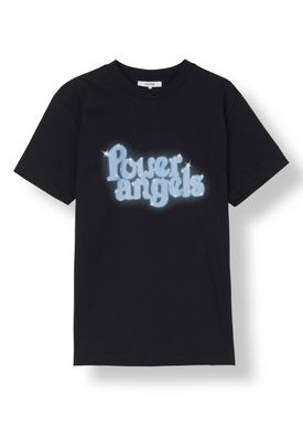 Ganni - T-shirt - Harris T-shirt - Black