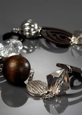 Gecko accessories - Necklace - Cosmos - Black