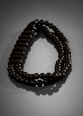 Gecko accessories - Necklace - Sussi - Brown