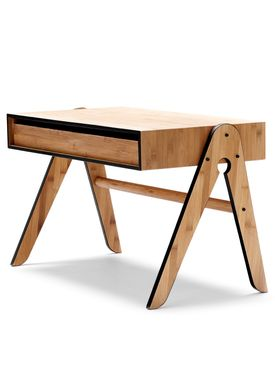 WeDoWood - Table - Geo's Table - Bamboo w. Black
