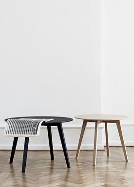 Getama - Bord - Circle / Coffee table / by Blum & Balle - Small / Oak