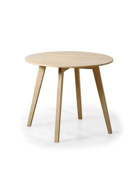 Getama - Table - Circle / Coffee table / by Blum & Balle - Small / Oak