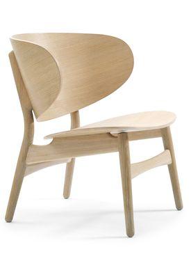 Getama - Lounge Chair - GE1936 / Venus Chair / by Hans J. Wegner - Oak with Oak legs