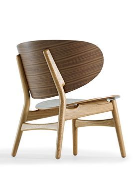 Getama - Lounge Chair - GE1936 / Venus Chair / by Hans J. Wegner - Walnut with Oak legs