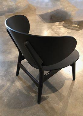 Getama - Lounge Chair - GE1936 / Venus Chair / by Hans J. Wegner - Black Stained Oak