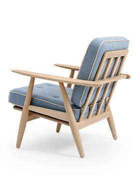 Getama - Lounge Chair - GE240 / The Cigar Chair / by Hans J. Wegner - Oak