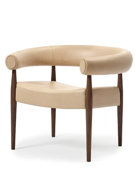 Getama - Lounge Chair - Ring Chair / by Nanna og Jørgen Ditzel - Walnut