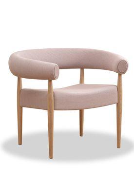 Getama - Lænestol - Ring Chair / af Nanna og Jørgen Ditzel - Egetræ