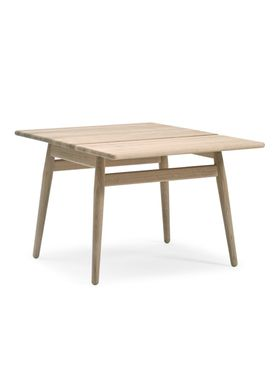 Getama - Coffee Table - ND55 / Folding table / by Nana Ditzel and Jørgen Ditzel - Oak with Flap / Untreated