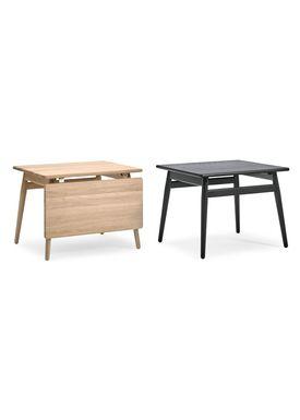Getama - Soffbord - ND55 / Folding table / by Nana Ditzel and Jørgen Ditzel - Oak without Flap / Black Stained