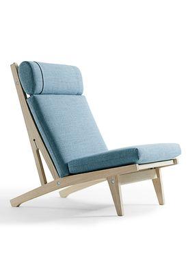 Getama - Stol - GE370 / Høj stol / af Hans J. Wegner - Egetræ