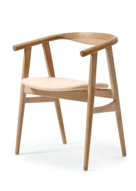 Getama - Chair - GE525 / The U-Chair / by Hans J. Wegner - Oak / Oiled