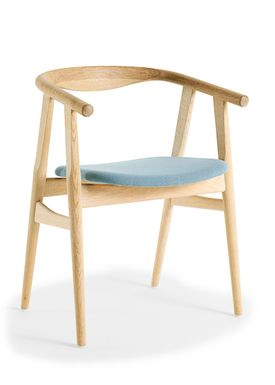 Getama - Chair - GE525 / The U-Chair / by Hans J. Wegner - Oak / Untreated