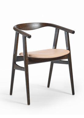 Getama - Chair - GE525 / The U-Chair / by Hans J. Wegner - Oak / Smoked