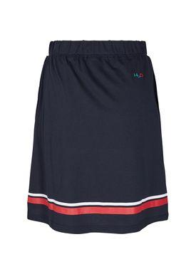H2O - Kjol - Maine Skirt - Navy/White/Red