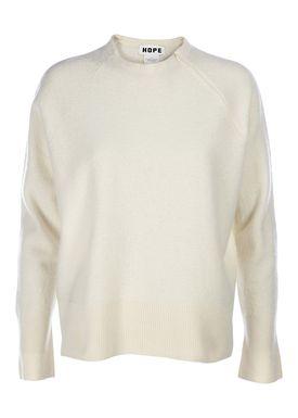 HOPE - Strik - Echo Sweater - Offwhite