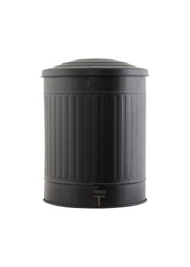House doctor - Trashcan - Trashcan Classic - Matt Black - 49 L