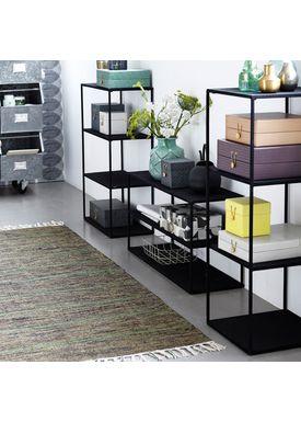 House doctor - Cushion - Rack - Black - Model B