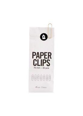 House doctor - Paperclips - Office Papirklips (30 pcs) - Gold (30 pcs)