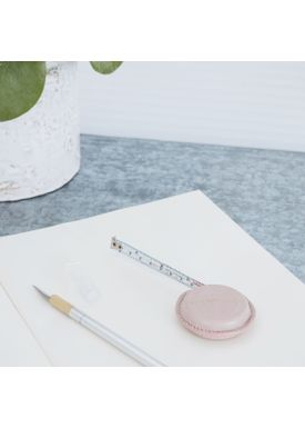 House doctor - Tape Measure - Leather Measure - Rose