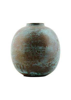 House doctor - Vase - Effect Vase - Antique Green - 13 cm