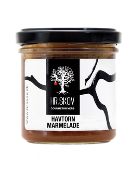Hr. Skov - Jam - Sea buckthorn/Aronia jam - Sea buckthorn
