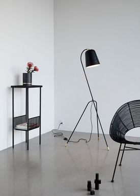 Hübsch - Table - Console Table - Small - Black