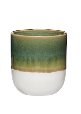 Hübsch - Cup - Ceramic Mugs - Green