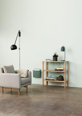 Hübsch - Lounge Chair - Recliner Chair - Gray