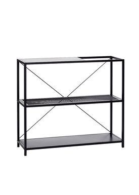 Hübsch - Display - Metal Mesh Shelf - Black