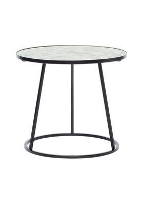 Hübsch - Coffee Table - Marble Frame Sofa Table - Medium - White/Black