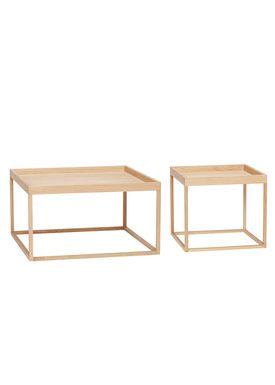 Hübsch - Coffee Table - Square oak table - Oak